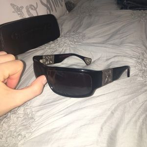 "Chrome Hearts Other - AUTHENTIC - Chrome Hearts ""Rejected"" Sunglasses"