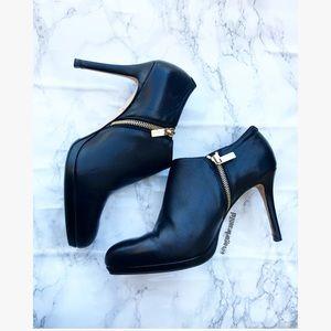 LK Bennett Shoes - LK Bennett Doris Leather Booties