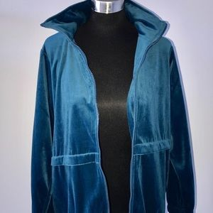 Reclaimed Vintage Jackets & Blazers - Vintage velour jacket