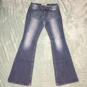 Vintage L.e.i. Hipster Flare Jeans