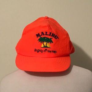 Vintage Malibu Snapback hat
