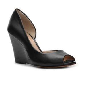 BCBGeneration Shoes - BCBGeneration Kirra Black Wedge Pumps