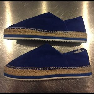 Miista Shoes - Miista Cobalt blue suede espadrilles. Sz 41.