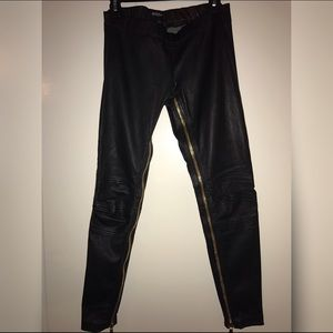 BALMAIN Zipper Leggings Fr 38 (S)