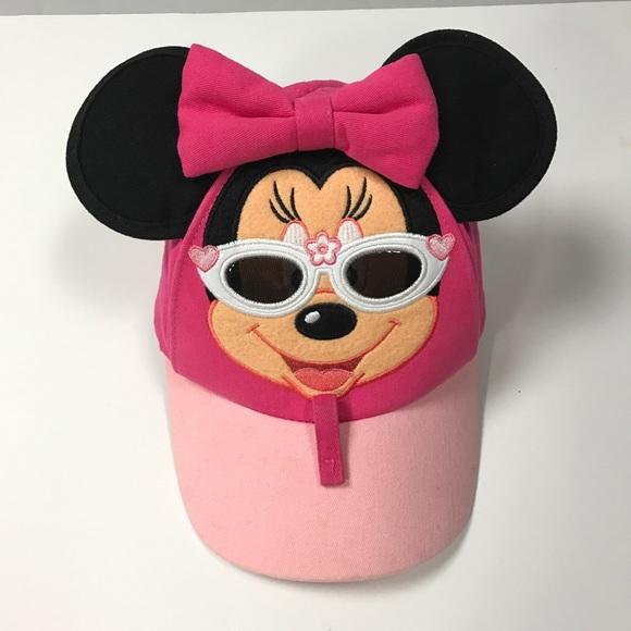 c54070b9f5f Disney Minnie Mouse Sunglass Cap Hat Toddler Girl
