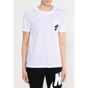 Nike White Logo Tee