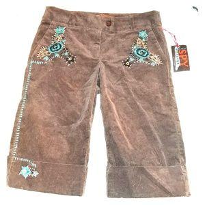 SPY Pants - 🔆 Cuffed city shorts/gauchos