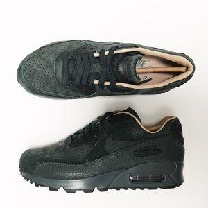 Nike Air Max 90 Pinnacle Suede + Leather Sneakers