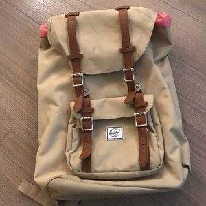 Herschel Supply Company Handbags - Herschel mid-volume khaki backpack