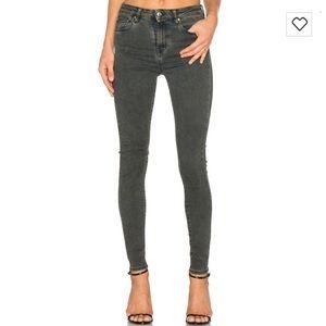 IRO Denim - IRO Paris Grey Faded Skinny Jeans