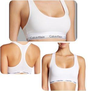 Calvin Klein Underwear Other - Calvin Klein modern logo sports bra bralette