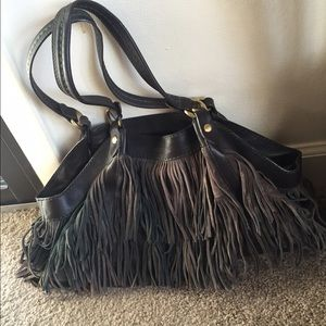 Hogan Handbags - 🎉HP🎉Hogan authentic fringe bag