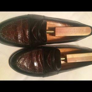 Mezlan Other - Mezlan Crocodile Mens Shoe Size 8