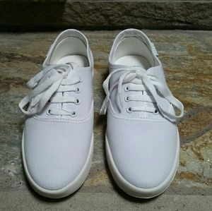 Keds Shoes - Cute to the core white  canvas sneakers