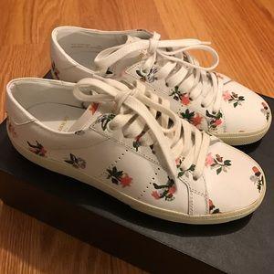 Saint Laurent Shoes - Saint Laurent Sneakers (FLORAL PRINT)