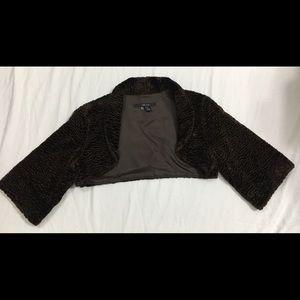 Zara Faux Fur Short Jacket Size Medium