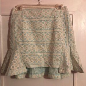 JOA Lace overlay Skirt
