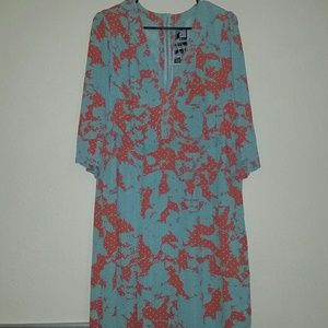 Evans  Dresses & Skirts - 1940s Style Vintage Print Dress