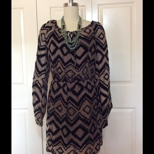 Presley Skye silk and viscose dress