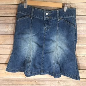 YMI Dresses & Skirts - Ladies YMI Blue Jean Skirt