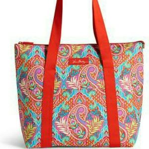 NEW Vera Bradley cooler tote paisley in paradise
