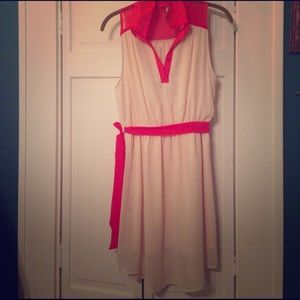 Peppermint Cream and Red Dress