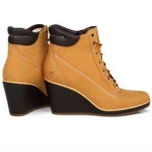 timberland wedge heels