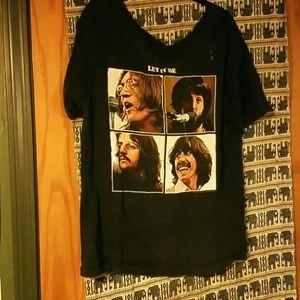 Vintage Tops - Beatles tshirt