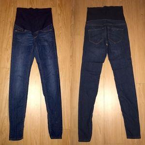 H&M Denim - MAMA H&M Maternity Skinny Blue Jeans - size 4