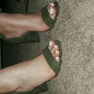 Comfortable sandals.