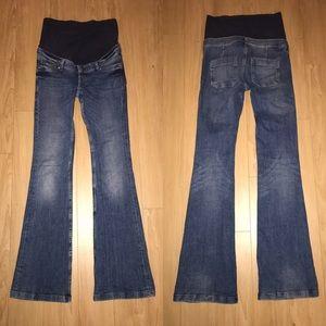 H&M Denim - MAMA H&M Maternity Flare Jeans - size 4