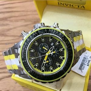 Invicta  Other - NWT $2,500 Ceramic carbon fiber Chronograph watch