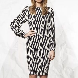 Winter Kate Dresses & Skirts - NWT Winter Kate Silk Crepe Herringbone Dress