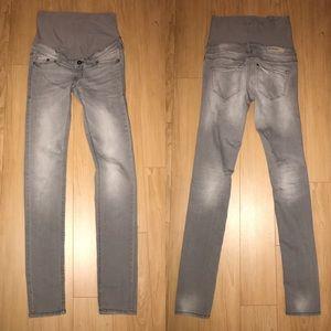 H&M Denim - MAMA H&M Maternity Skinny Grey Jeans - size 4