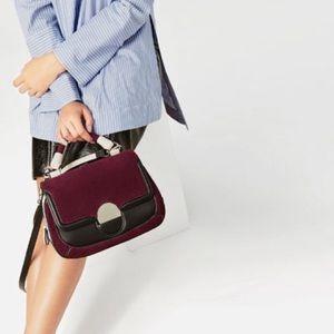 NWT ZARA Messenger Bag 