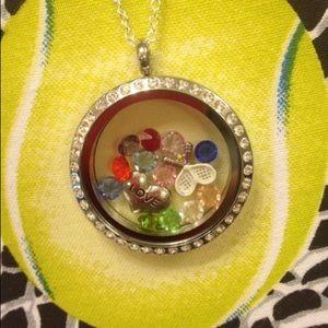 Jewelry - Tennis Lover's Locket