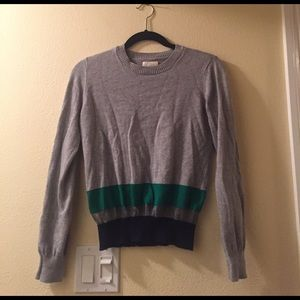 Band Of Outsiders Sweaters - Band of Outsiders grey stripe sweater, size 1