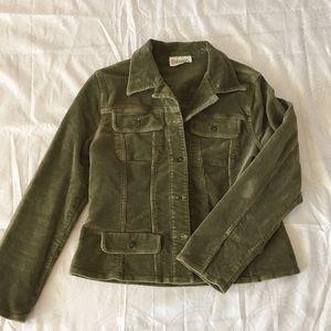 Green Chadwick's Corduroy Jacket Blazer