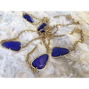 Kendra Scott Jewelry - Kendra Scott Cobalt Kinley station necklace