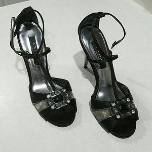 Nina Ricci Shoes - Black strappy heels