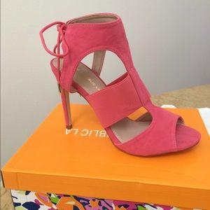 shoe republic la Shoes - Shoe Republic LA Mayer Heel Pink