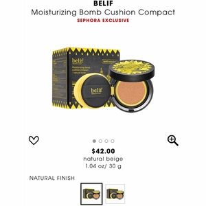 BELIF CUSHION COMPACT BB CREAM FOUNDATION