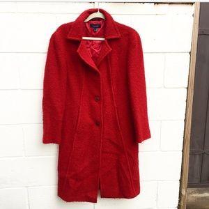 Cantarelli Jackets & Blazers - CANTARELLI Red Coat