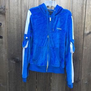 Rocawear Sweaters - Blue and gold women's rocawear classic sweater