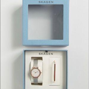 Skagen Accessories - Skagen Ancher Watch & Anette Bracelet