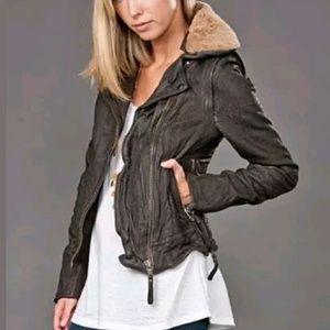 Muubaa Jackets & Blazers - MUUBBA leather CHARME AVIATRESS JACKET