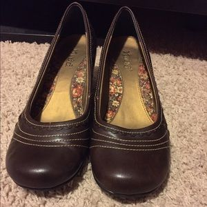 Mudd brown shoes