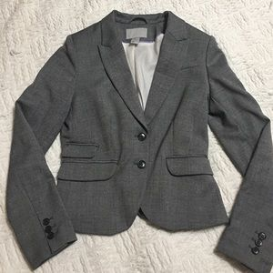 NWOT H&M Gray Double Button Blazer