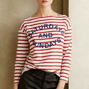Anthropologie Saturdays and Sundays Tee Shirt