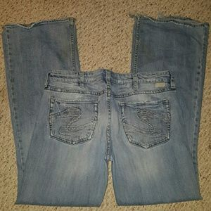 Silver Jeans Denim - Distressed Silver Bootcut